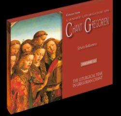CD grégorien - Vêpres et complies par la Schola Bellarmina (2CD)