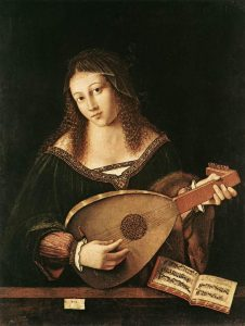 Revue Una Voce 332 - Bartolomeo Veneto (1470-1531) - Femme au luth