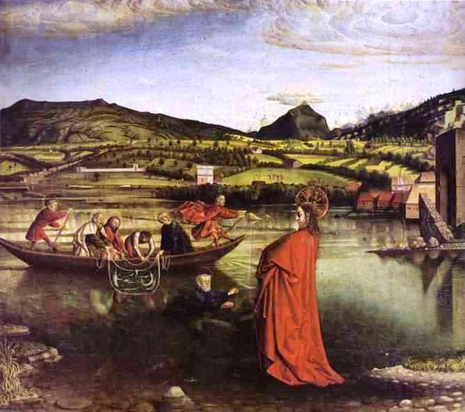 Konrad Witz - La pêche miraculeuse