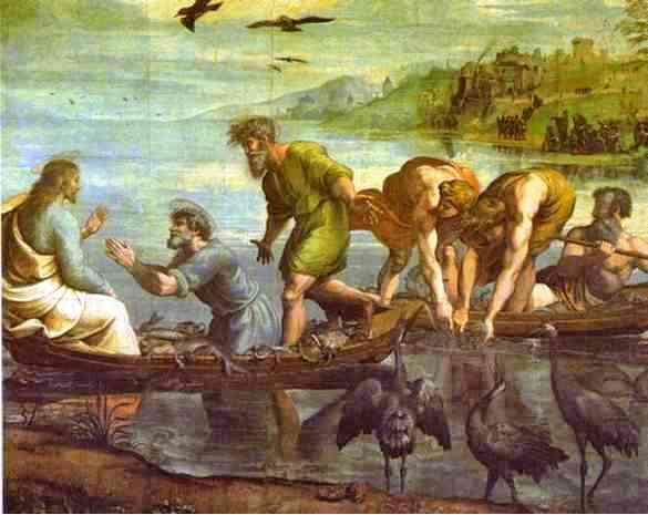 Raphaël - La Pêche miraculeuse