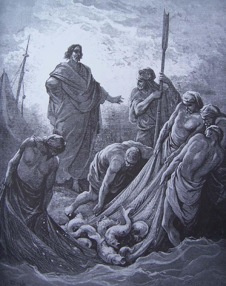 Gustave Doré - La pêche miraculeuse