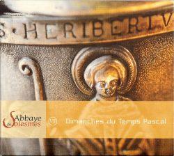 CD Grégorien - Dimanches du Temps Pascal - Choeur des Moines de l'Abbaye Saint-Pierre de Solesmes