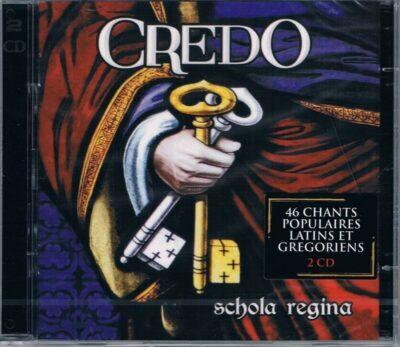 CD - grégorien - Schola Regina - Credo
