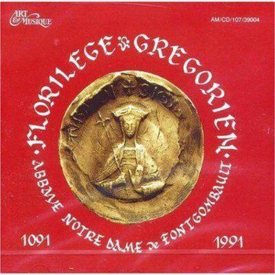 CD - grégorien - Abbaye de Fontgombault - Florilège grégorien - 1091 - 1991