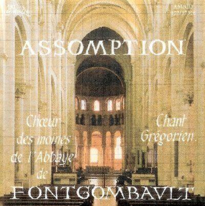 CD - grégorien - Choeur des Moines de l'Abbaye de Fontgombault - Assomption