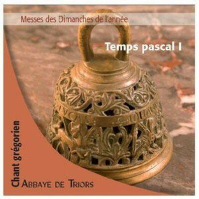 CD - grégorien - Choeur des Moines de l'Abbaye ND de Triors - Temps Pascal 1 - Pâques, 1 et 2 dim. ap. Pâques