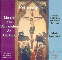 Triors - Printemps I - Les 3 premiers dimanches de Carême