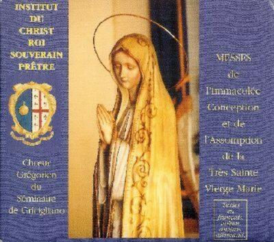 Institut du Christ-Roi - Immaculée Conception