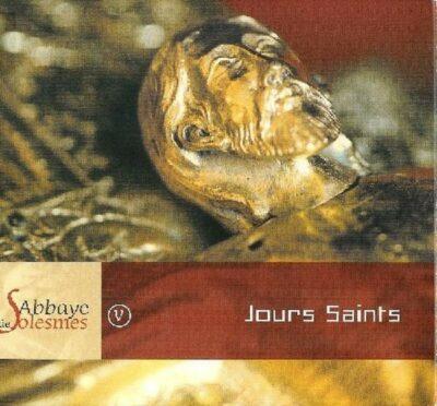 Solesmes - Jours Saints