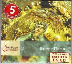 Solesmes - Vierge Marie