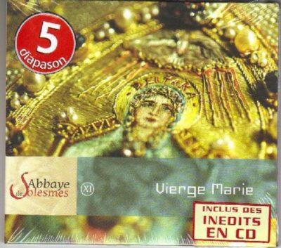 CD - grégorien - Choeur des Moines de l'Abbaye Saint-Pierre de Solesmes - Vierge Marie