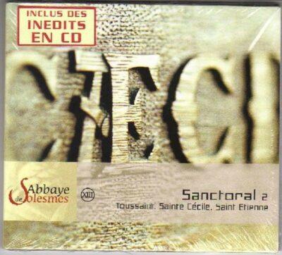 Solesmes - Sanctoral 2 - Toussaint- Ste Cécile- St Etienne