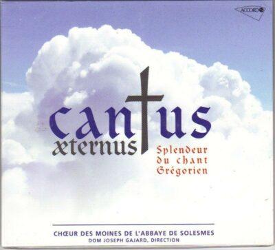 CD - grégorien Choeur des Moines de l'Abbaye de Saint-Pierre- Solesmes - Cantus aeternus - Splendeur du chant grégorien