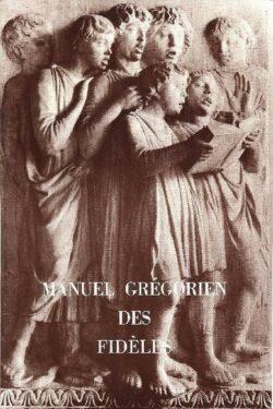 Manuel grégorien des fidèles