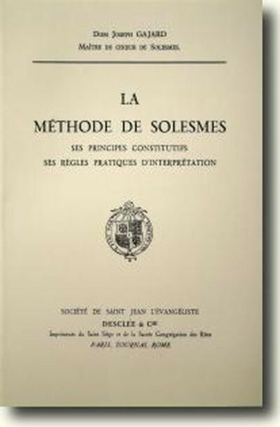 La méthode de Solesmes