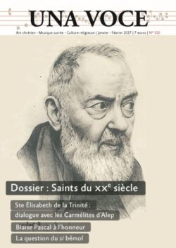 Saints du XXè siècle