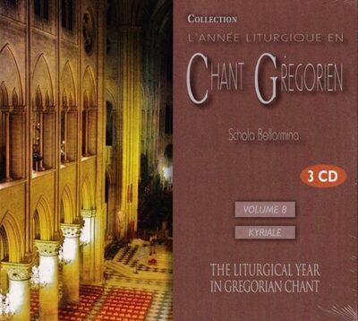 CD - grégorien - Schola Bellarmina - Temporal Vol 8 - Kyriale et Credo