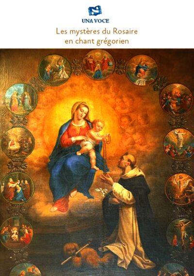 Les mystères du Rosaire en chant grégorien