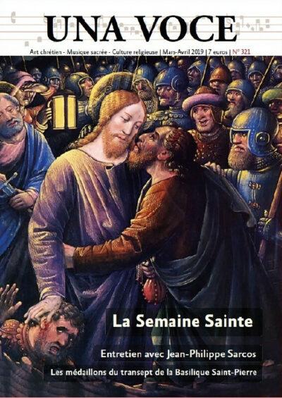 Revue N° 321 La Semaine Sainte (numérique)