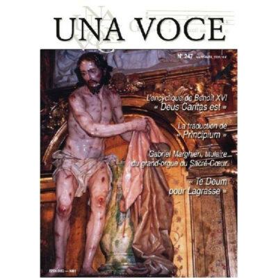 Revue N° 247 L'encyclique de Benoît XVI « Deus Caritas est » (numérique)