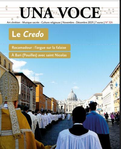 Revue N° 324 - Le Credo