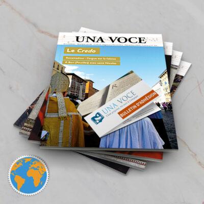 Etranger : Adhésion, Abonnement et soutien 1 an