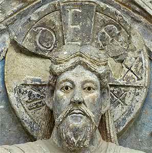 Conques_tympan Dix-septième dimanche après la Pentecôte